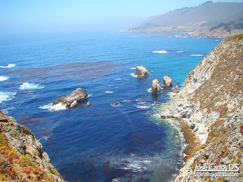 Acantilados Costa de California Pacífico