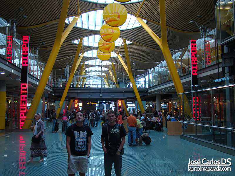 Aeropuerto de Barajas Madrid