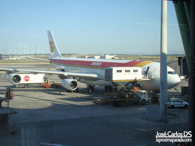 Aeropuerto de Barajas Madrid Iberia