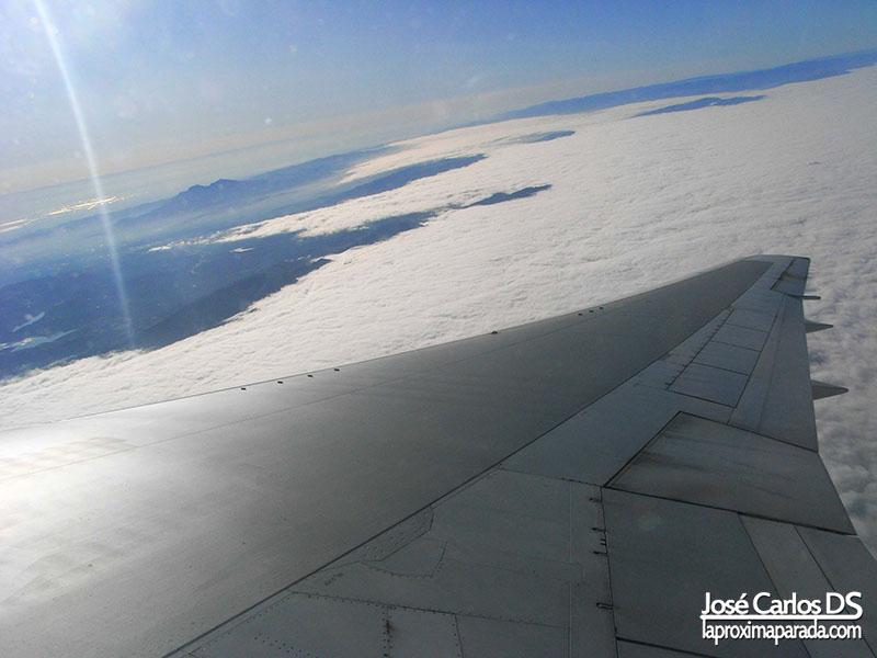 Ala de Avión San Francisco a Nueva York