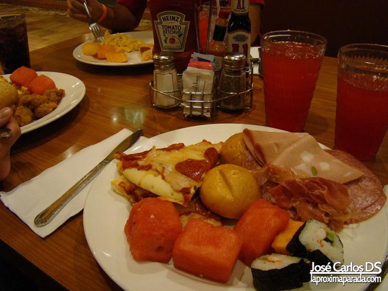 Almuerzo Buffet Hotel Excalibur Las Vegas