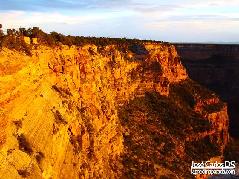 Anochecer Parque Nacional Cañón del Colorado