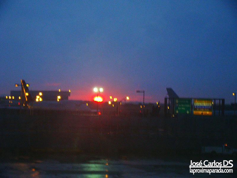 Anochecer en Aeropuerto JFK - John F. Kennedy