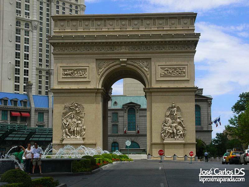 Arco del Triunfo Hotel París París Las Vegas