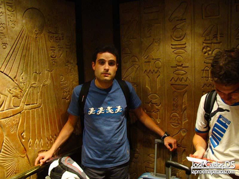 Ascensor Hotel Luxor Las Vegas