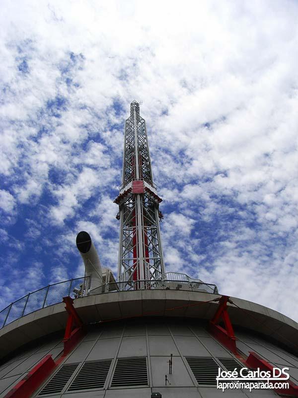 Atracción Big Shot Stratosphere Las Vegas
