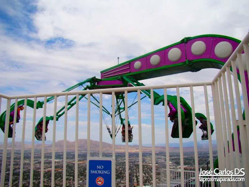 Atracción Insanity the Ride Stratosphere Las Vegas