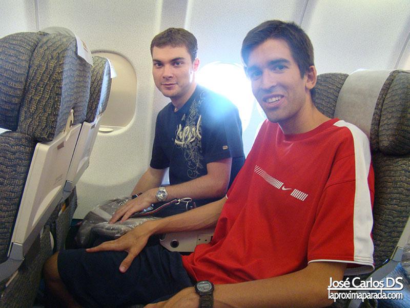 Avión rumbo a Miami