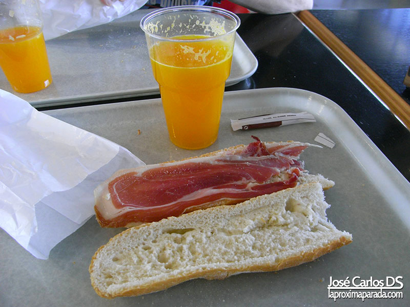 Desayuno Bocata de Jamón