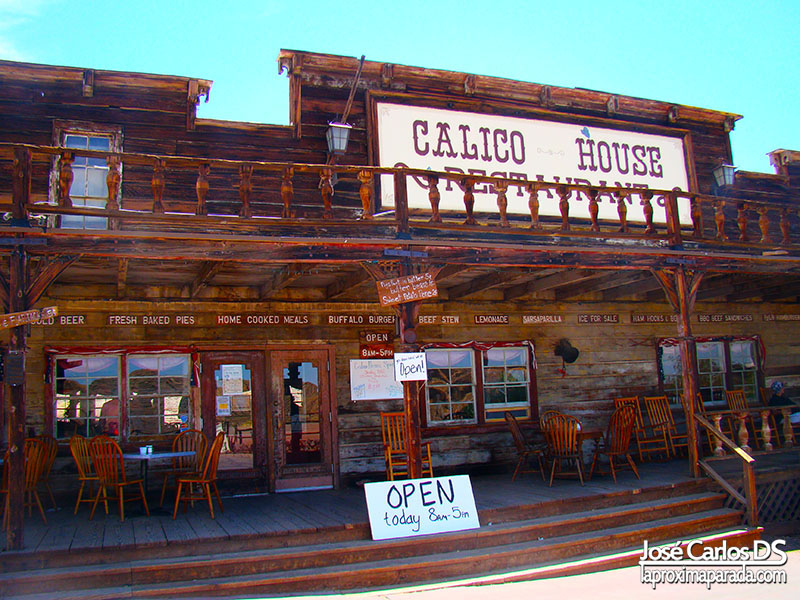 Cantina Calico Ghost Town