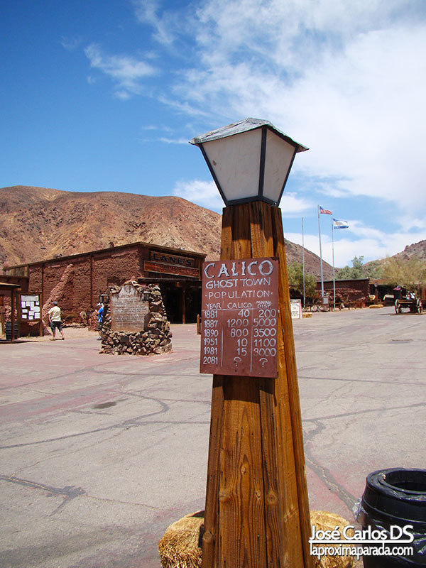 Habitantes Calico Ghost Town