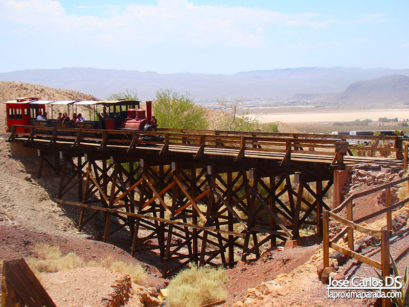 Tren Calico Ghost Town