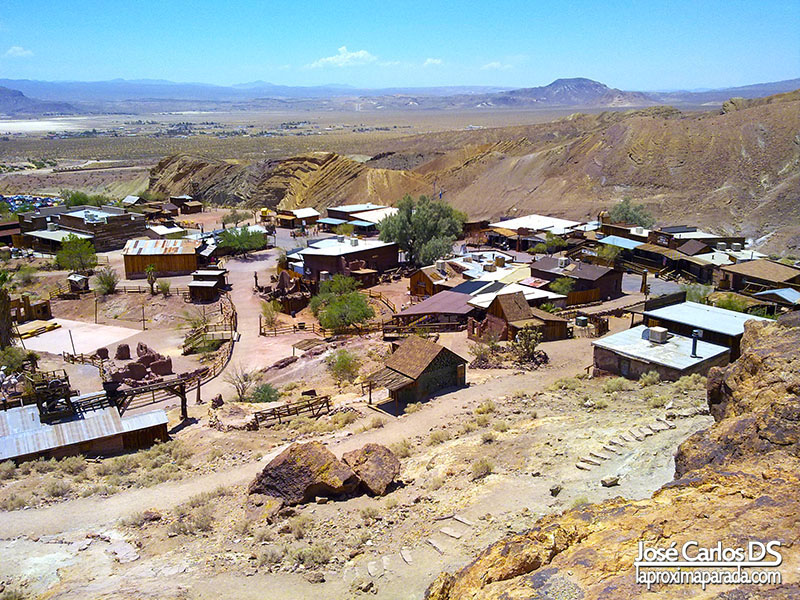 Panorámica Calico Ghost Town