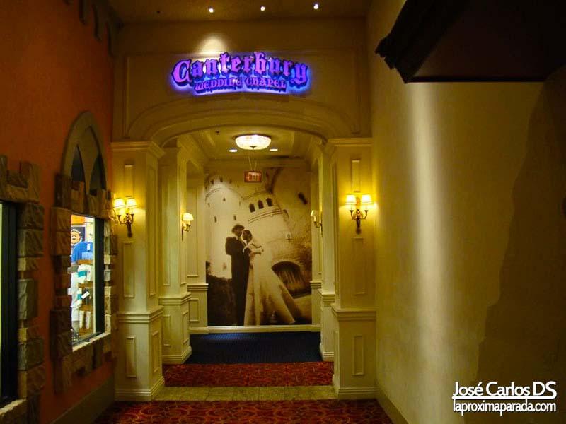 Capilla de Bodas Hotel Excalibur Las Vegas
