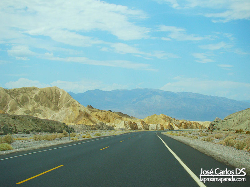 Carretera Death Valley National Park
