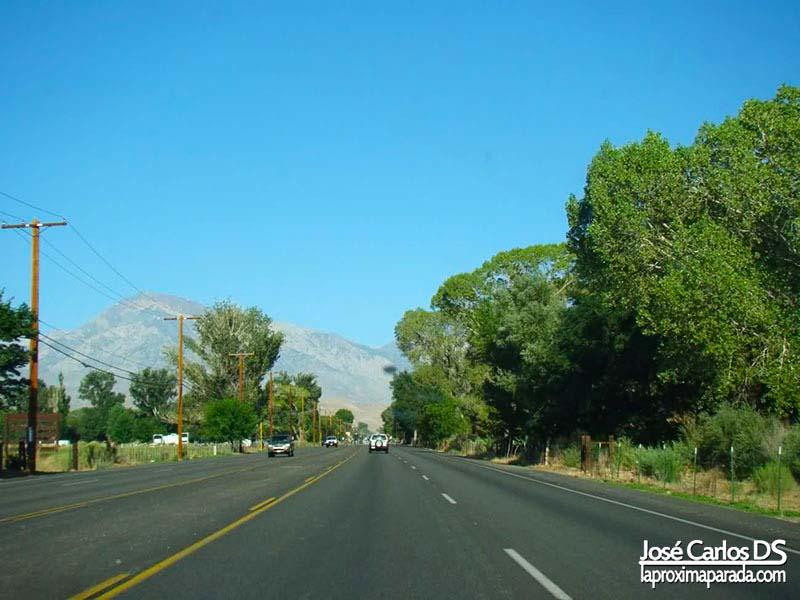 Carretera Rumbo a Yosemite