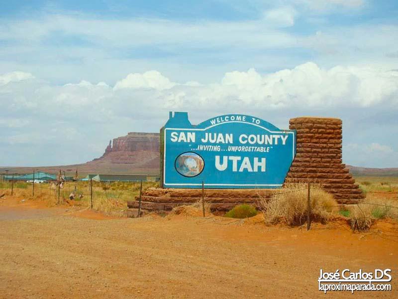 Cartel Bienvenidos a Utah