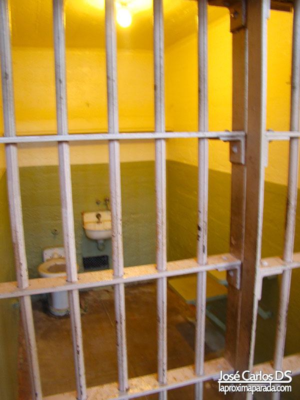 Celda Prisión de Alcatraz San Francisco