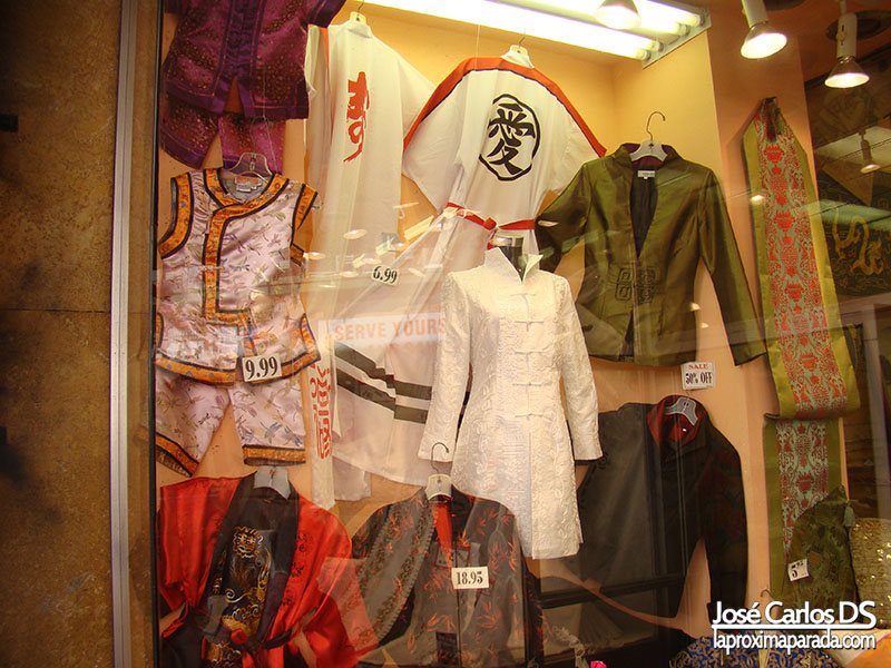 Trajes Chinatown San Francisco