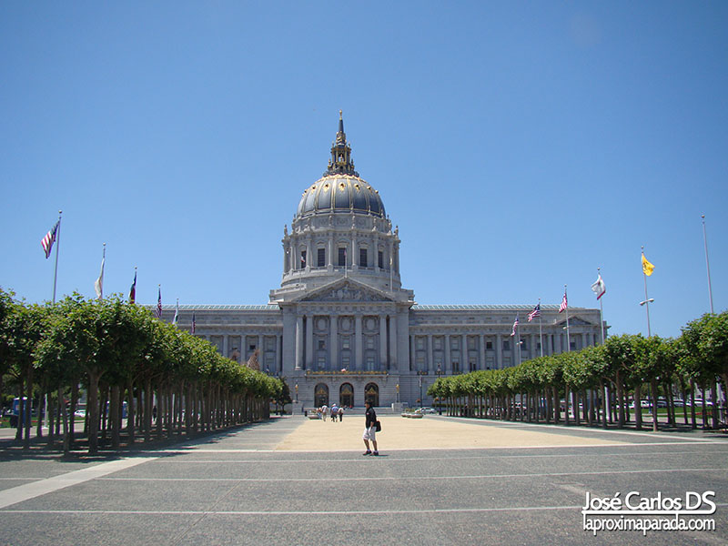 City Hall Plaza Naciones Unidas San Francisco