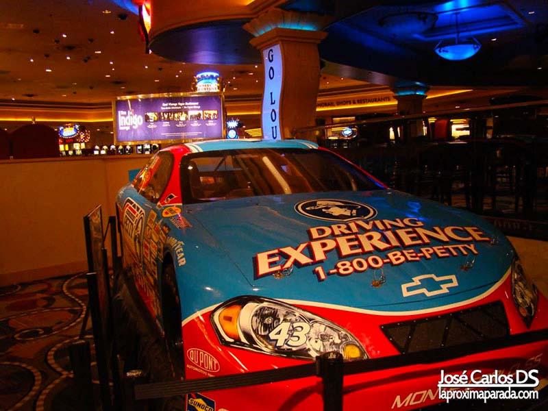 Coche Nascar Hotel Bally´s Las Vegas