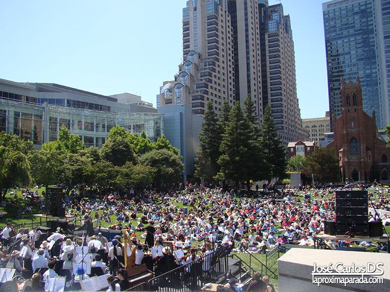 Concierto en Yerba Buena Garden San Francisco