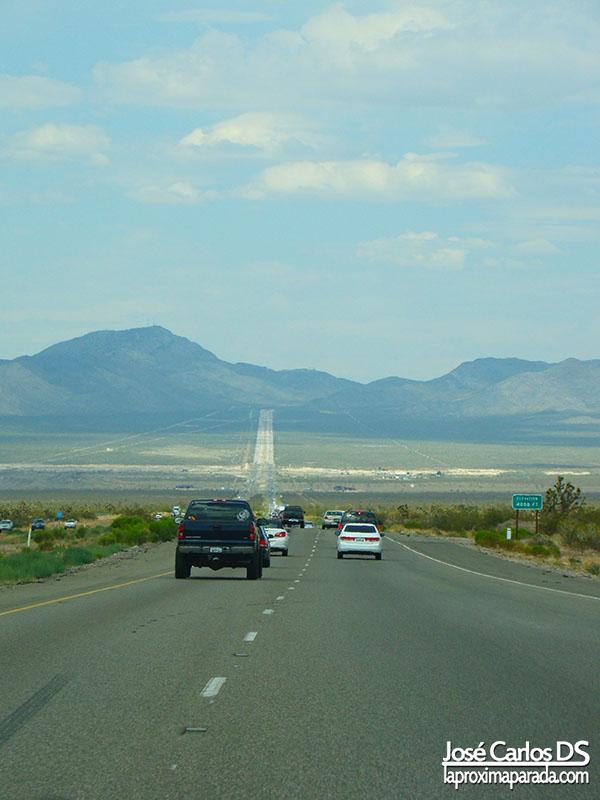 Desierto de Mohave Rumbo a Las Vegas Nevada