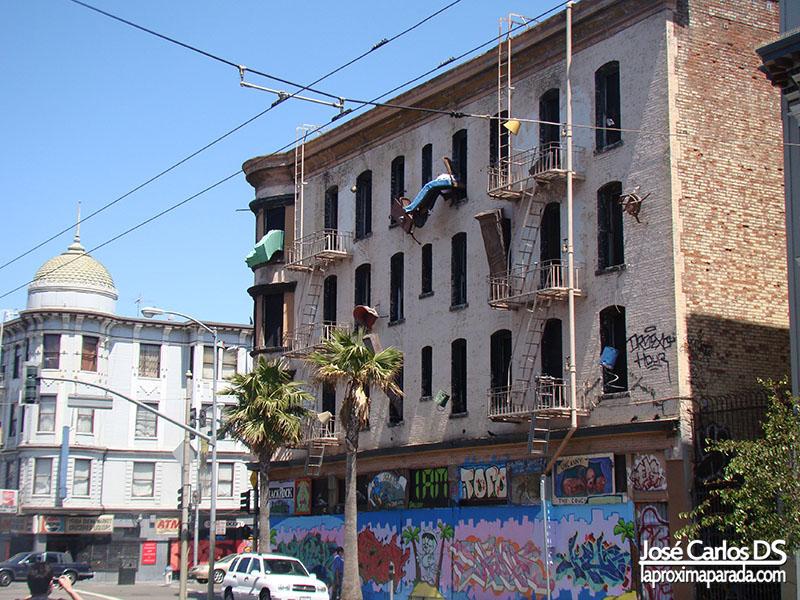 Edificio Abandonado Museo San Francisco