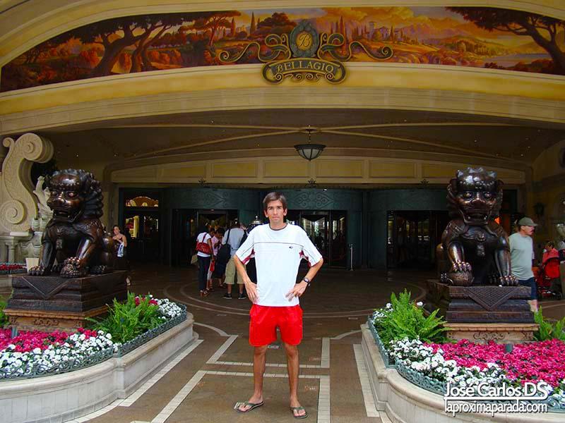 Entrada Hotel Bellagio Las Vegas