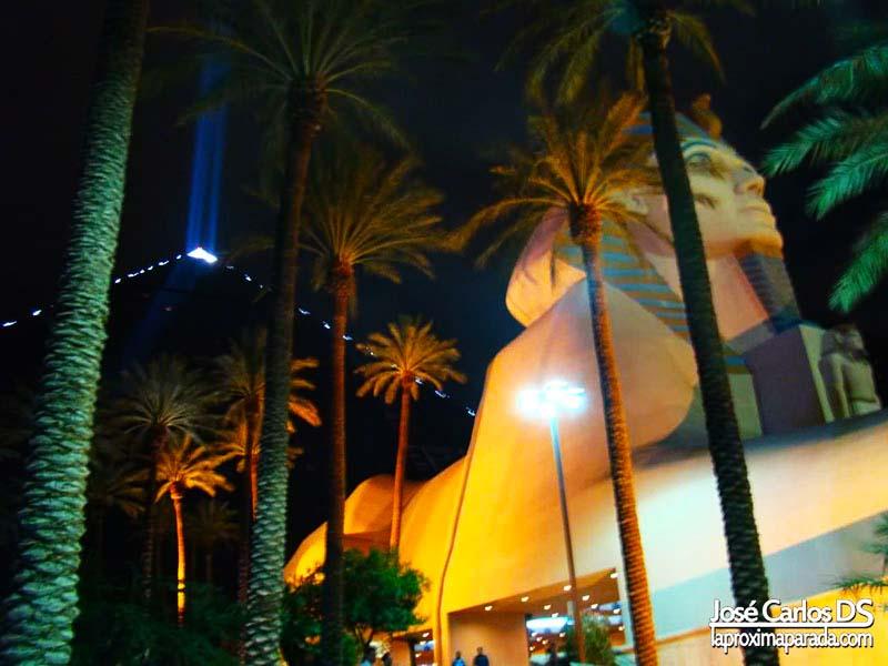 Esfinge y Pirámide Hotel Luxor Las Vegas