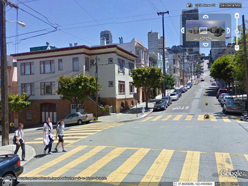 Fichados en Google Street View