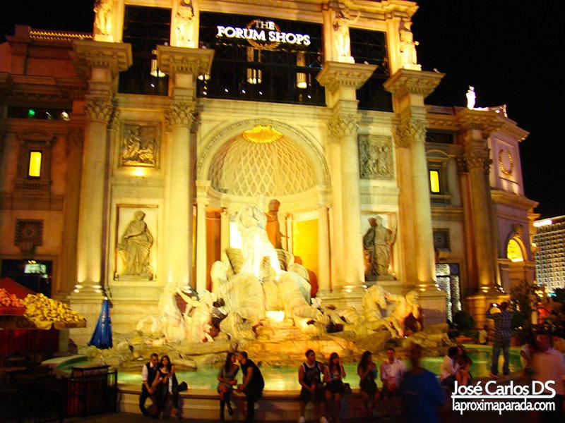 Fontana di Trevi de Las Vegas Strip de Las Vegas Nevada