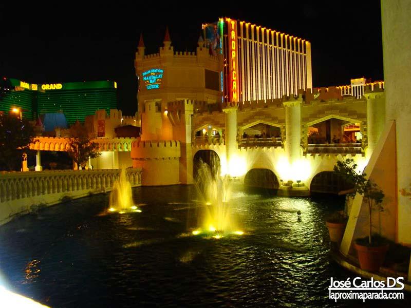 Fuentes Hotel Excalibur Las Vegas