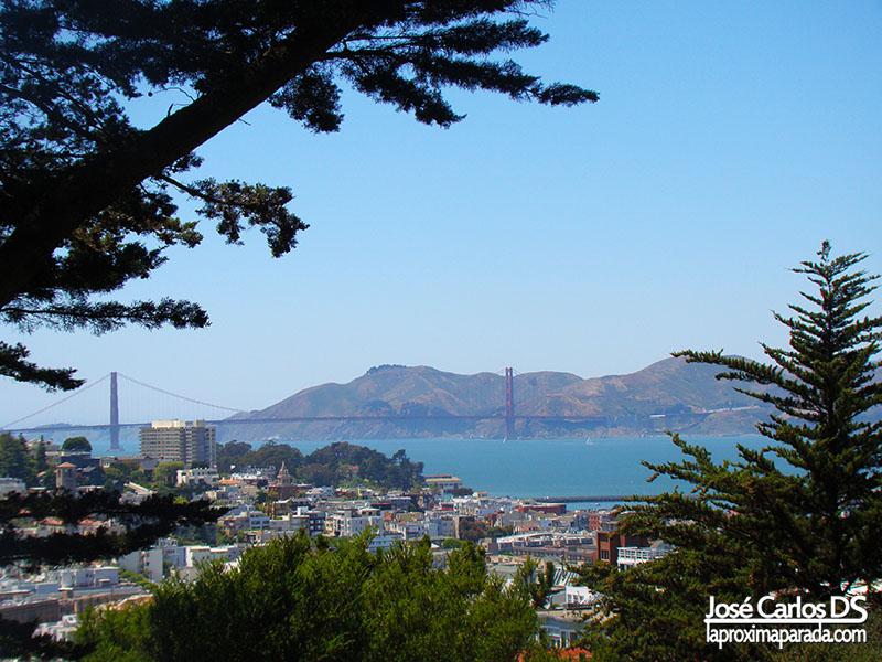 Golden Gate desde Coit Tower San Francisco