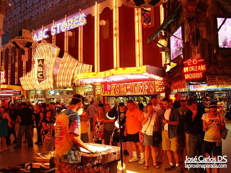 Grafitero Fremont Street Las Vegas