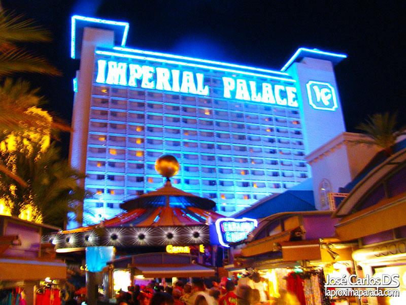 Hotel Imperial PalaceStrip de Las Vegas Nevada