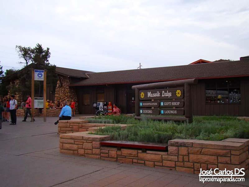 Recepción Hotel Maswik Lodge Parque Natural del Cañón del Colorado