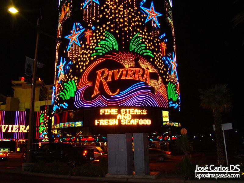 Hotel Riviera Strip de Las Vegas Nevada