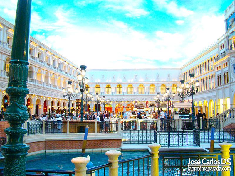 Interior Hotel The Venetian de Las Vegas Nevada