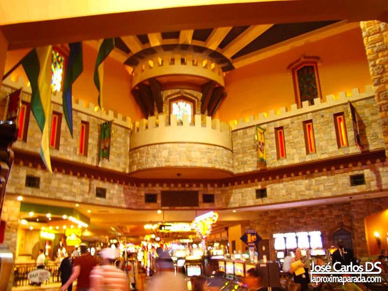 Interior Hotel Excalibur Las Vegas
