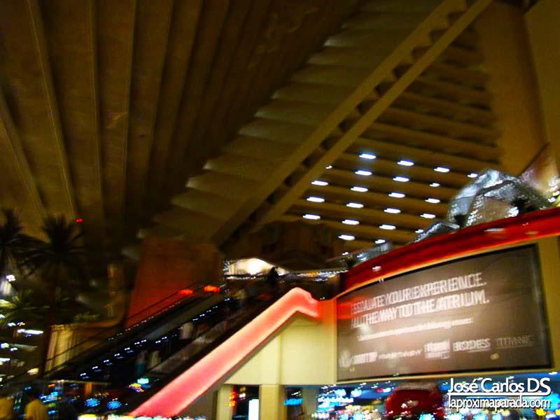 Interior Hotel Luxor Las Vegas
