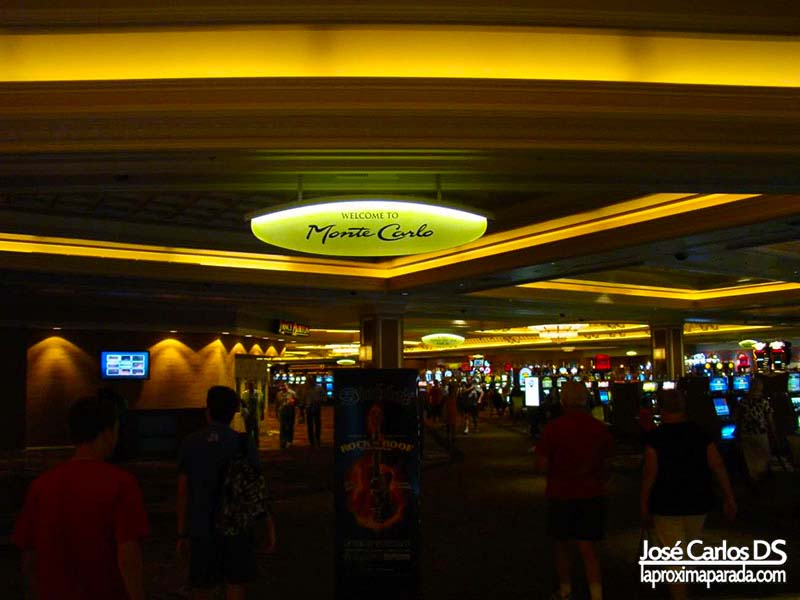 Interior Hotel Montecarlo Las Vegas