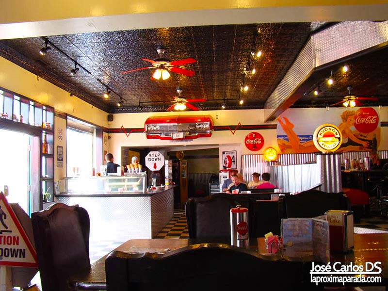 Interior Restaurante en Williams Ruta 66