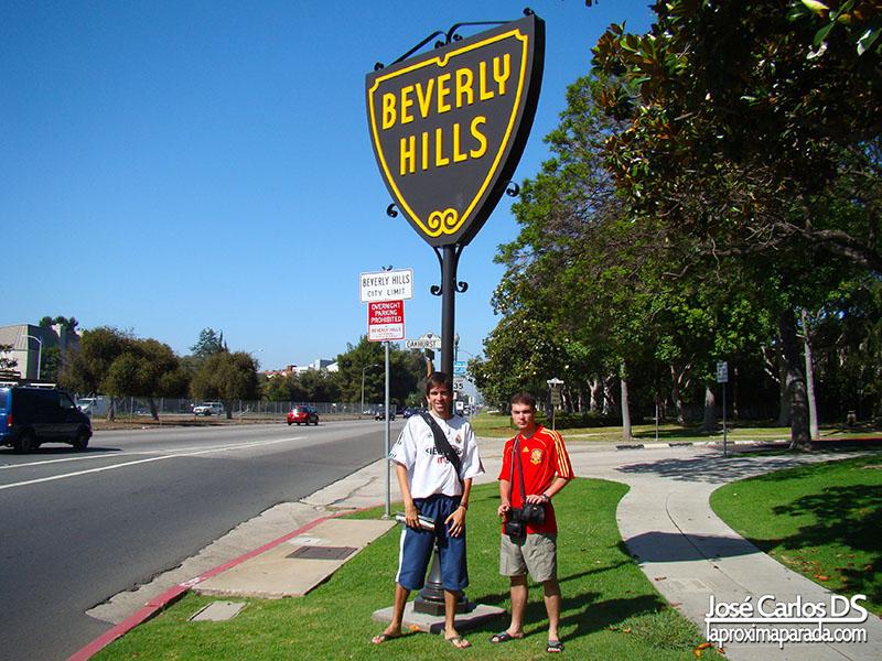 Letrero Beverly Hills Los Angeles