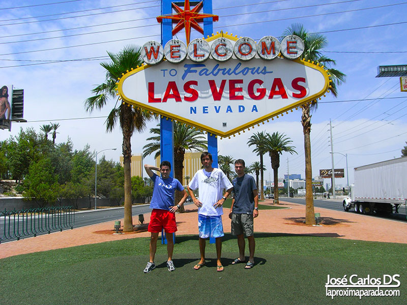 Letrero de Welcome to Fabulous Las Vegas