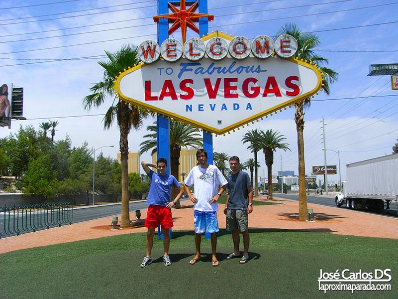 Letrero de Welcome to Fabulous Las Vegas