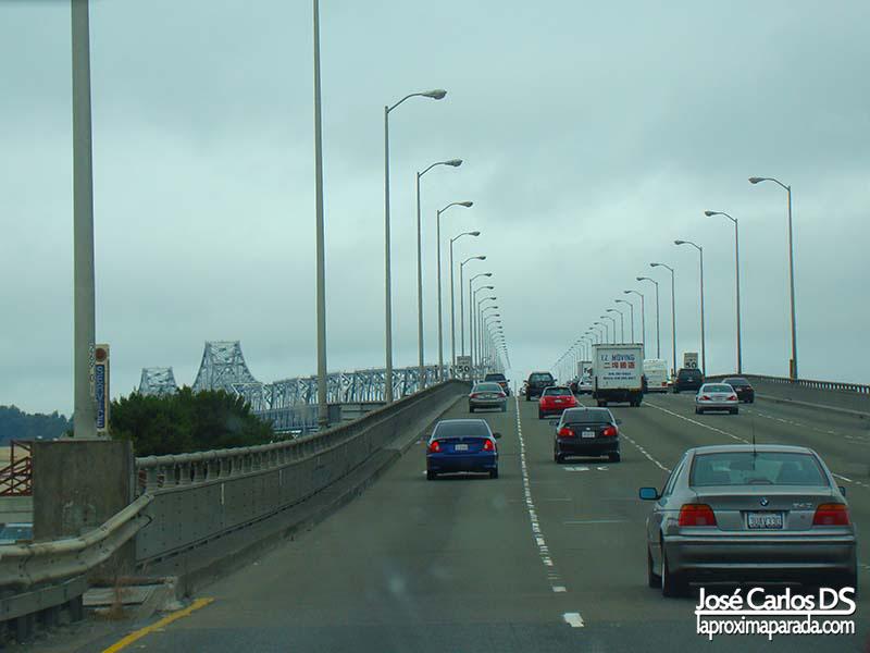 Llegando al Puente de Oakland San Francisco