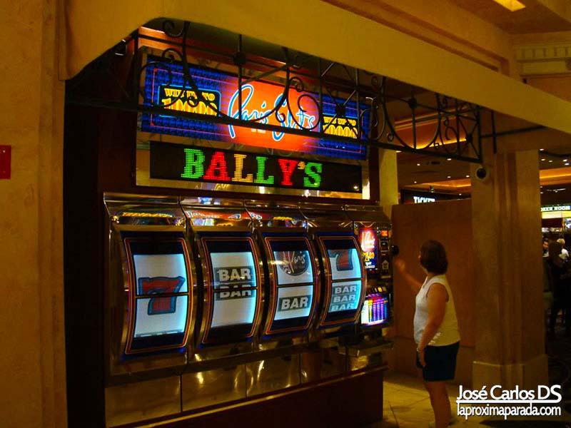 Máquina Tragaperras Hotel Bally´s Las Vegas