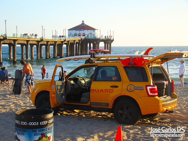 Socorristas Manhattan Beach Los Angeles