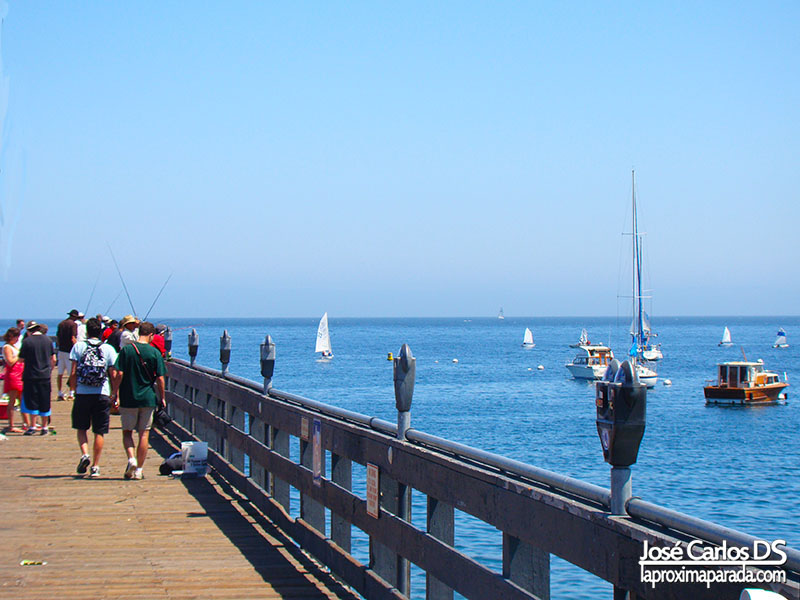 Muelle Monterey Costa de California